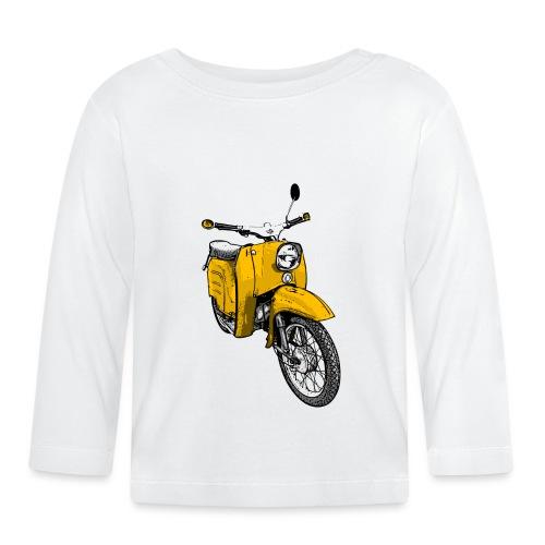 schwalbe gelb - Baby Langarmshirt