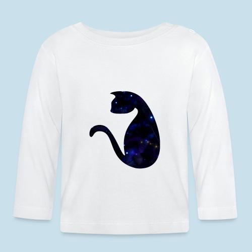 Universums Katze - Baby Langarmshirt