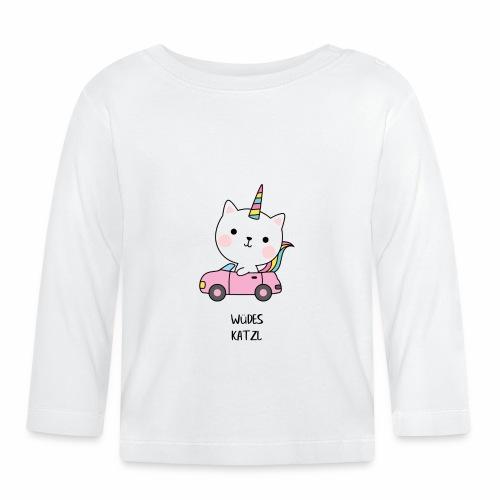 Wüdes Katzl - Baby Langarmshirt