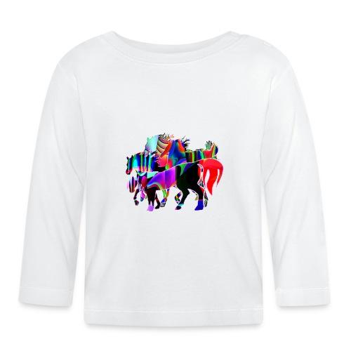 Die Familie - T-shirt manches longues Bébé