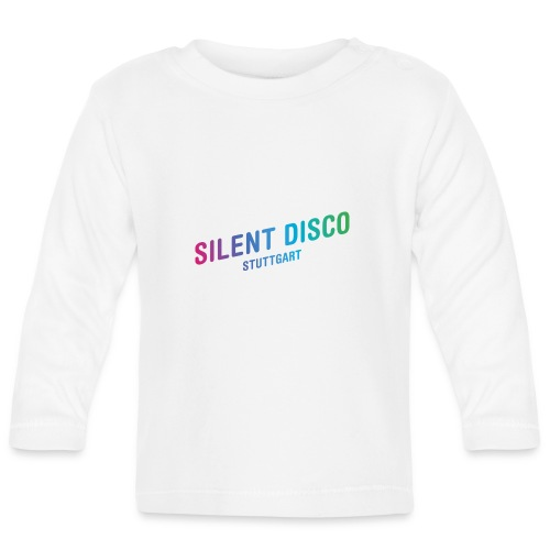 Silent Disco Stuttgart - Gradient - Baby Langarmshirt