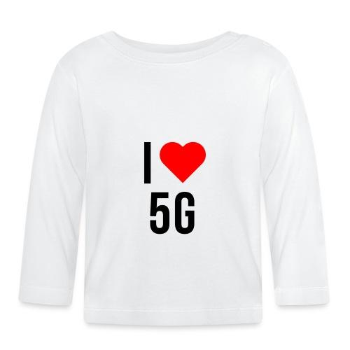 ilove5g - Baby Langarmshirt