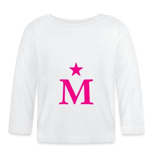 M de Moderdonia rosa - Camiseta manga larga bebé