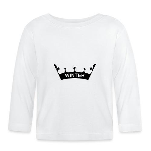 winter_crown - Baby Langarmshirt