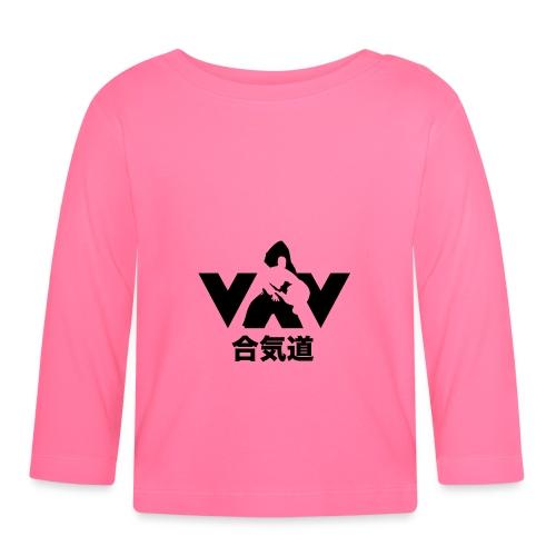 aikido zwart - T-shirt