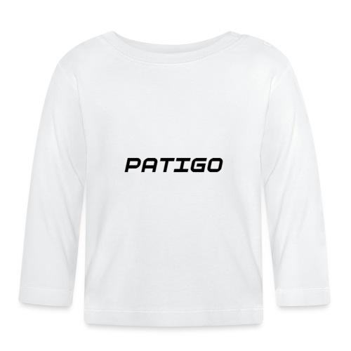 PATIGO - Langærmet babyshirt