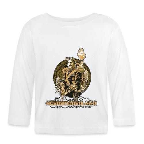 Höyrymarsalkan upea kangaskassi - Vauvan pitkähihainen paita