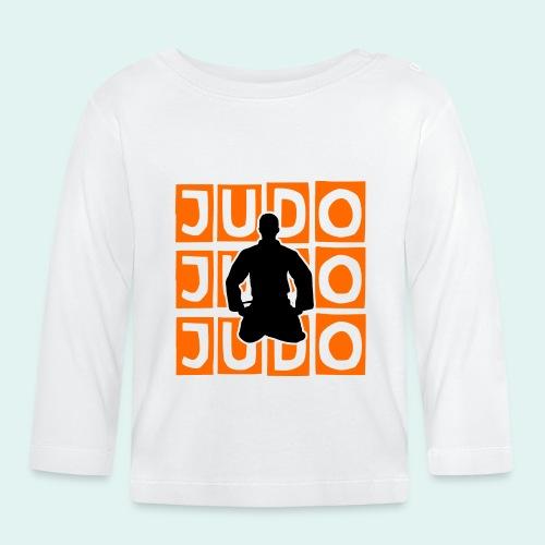 Motiv Judo Orange - Baby Langarmshirt