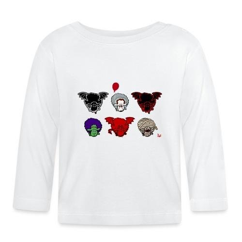 Sheepers Creepers - Langarmet baby-T-skjorte