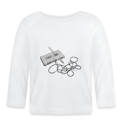 La cassette et son allié - T-shirt manches longues Bébé
