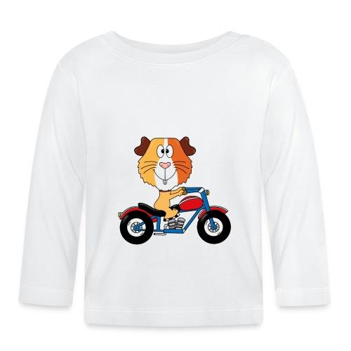 MEERSCHWEINCHEN - MOTORRAD - BIKER - MOTORSPORT - Baby Langarmshirt