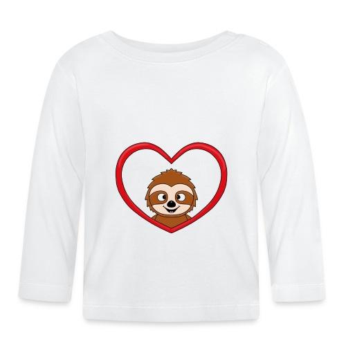 FAULTIER - LIEBE - LOVE - TIER - KIND - BABY - Baby Langarmshirt