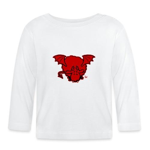 Devil Sheep - Langarmet baby-T-skjorte