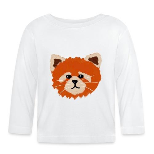 Amanda the red panda - Baby Long Sleeve T-Shirt