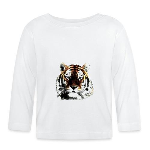 El poderoso tigre. - Camiseta manga larga bebé