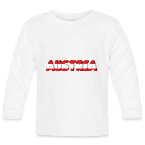 Austria Textilien und Accessoires - Baby Langarmshirt