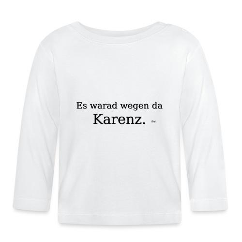 Karenz - Baby Langarmshirt