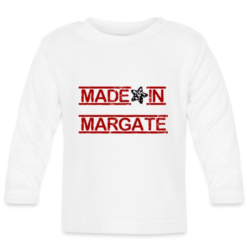 Made in Margate - RED - Baby Long Sleeve T-Shirt