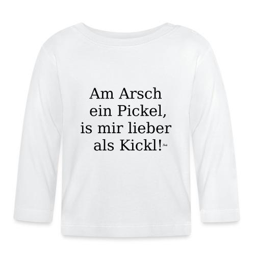 arschpickel - Baby Langarmshirt