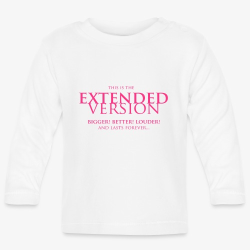 This Is The Extended Version - Långärmad T-shirt baby