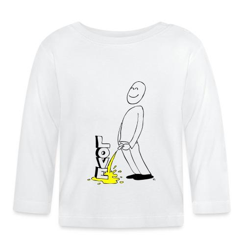 tissekopp original - Langarmet baby-T-skjorte