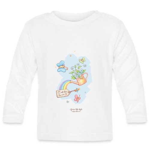 T-shirt bébé Mafamillamoi - T-shirt manches longues Bébé