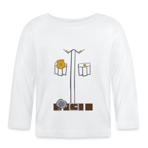 Police Tee Black edition - Baby Long Sleeve T-Shirt