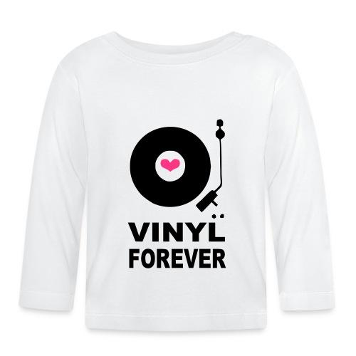 Vinyl Forever T-shirt - Baby Long Sleeve T-Shirt