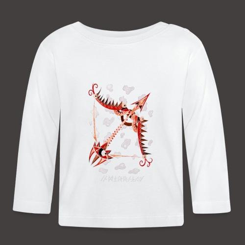 Sagittaire Négutif - T-shirt manches longues Bébé