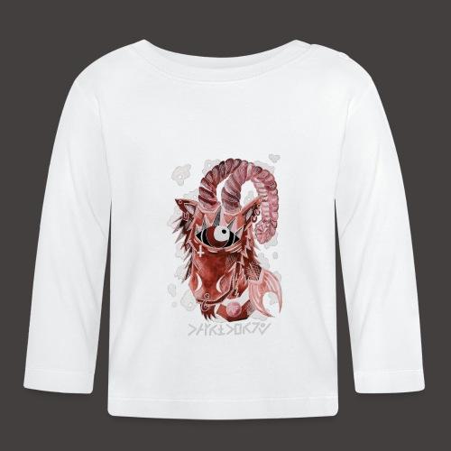 capricorne Négutif - T-shirt manches longues Bébé