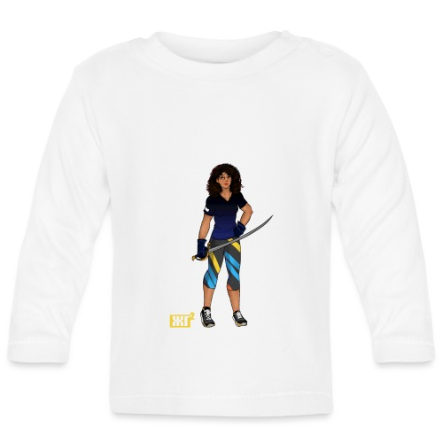 Sabre fencer - Baby Long Sleeve T-Shirt