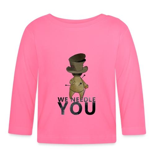 WE NEEDLE YOU - T-shirt manches longues Bébé