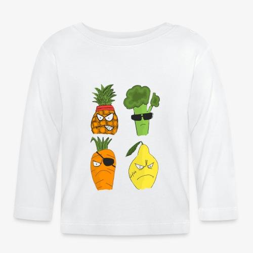 Gangsta Vegetables - Public Enemies? - T-shirt manches longues Bébé