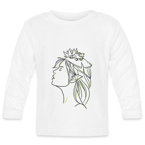 FILLE GRENOUILLE - T-shirt manches longues Bébé