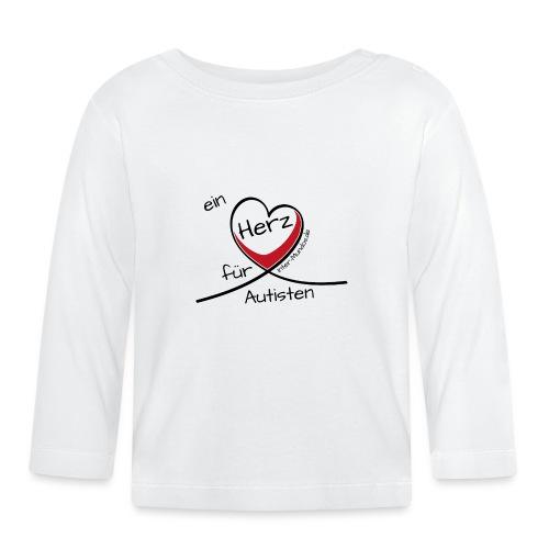 Ein Herz für Autisten - Baby Langarmshirt