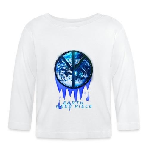 Earth need piece - Baby Long Sleeve T-Shirt