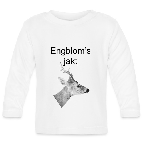 Officiell logo by Engbloms jakt - Långärmad T-shirt baby