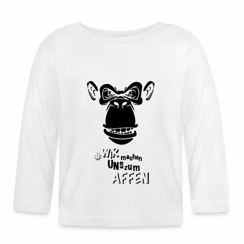Angry Monkey - Baby Langarmshirt