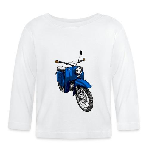 schwalbe blau - Baby Langarmshirt