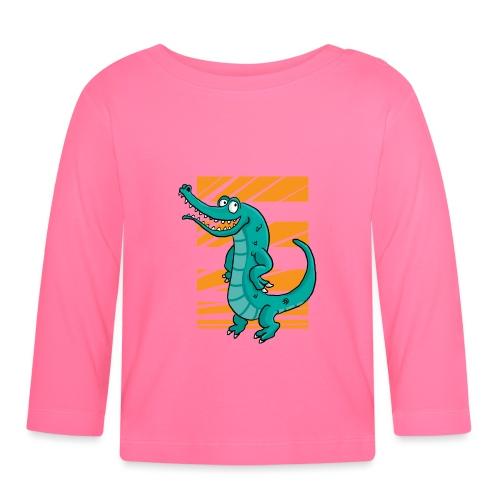 Crocrodile - T-shirt manches longues Bébé
