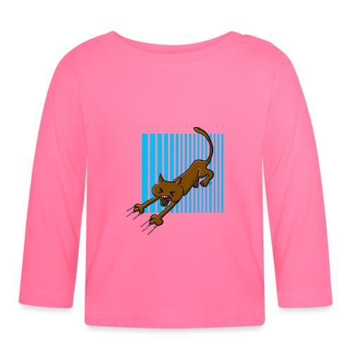 Chat griffes - T-shirt manches longues Bébé