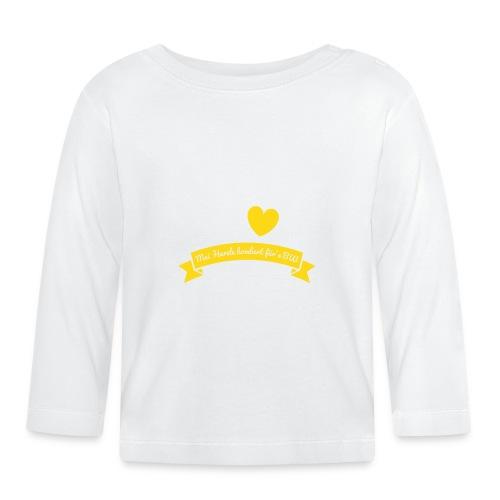 Herzle BW - Baby Langarmshirt