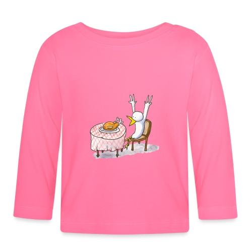 Le repas inattendu - T-shirt manches longues Bébé