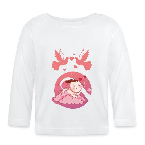 Süße Umstandsmode Schwangerschaft T-Shirt Mädchen - Baby Langarmshirt