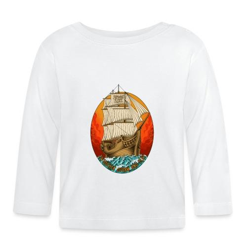 Segelschiff - Baby Langarmshirt