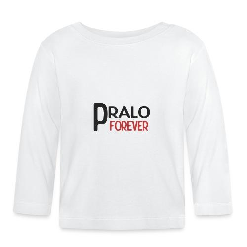 pralo forever noir et rouge - T-shirt manches longues Bébé