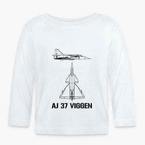 AJ 37 VIGGEN - Långärmad T-shirt baby