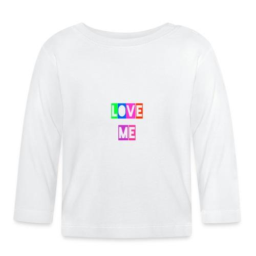 LoveMe - Camiseta manga larga bebé