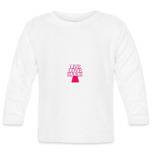 LiveLoveBake2 - Langærmet babyshirt