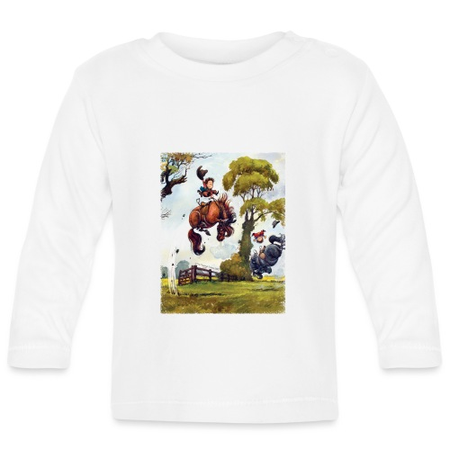 Thelwell Cartoon Pony Rodeo - Baby Langarmshirt